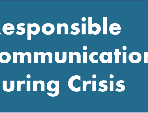 Responsible communication during crisis