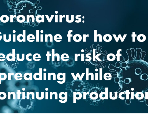 Coronavirus: Guideline for how to reduce the risk of spreading while continuing production